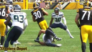 James Conner 'Feeling Very Good', Says There Was...