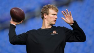 Ryan Finley nervous, but the right kind of nervous...
