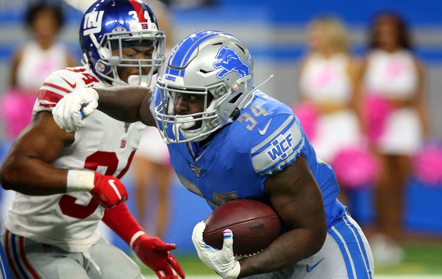 Lions place Tra Carson on IR, promote Paul Perkins...