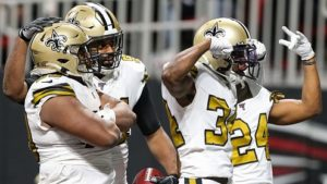 Saints clinch NFC South, 11 playoff spots to go –...