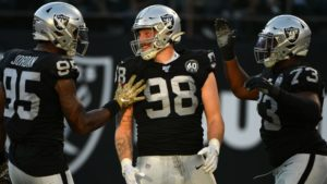 Maxx Crosby named AFC defensive player of the week...