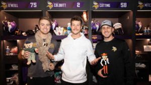 Colquitt Fills Locker with Cast of Characters