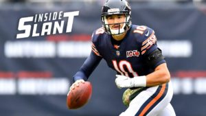 Mitchell Trubisky looks to build on three-TD...
