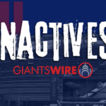 New York Giants vs. Packers Week 13 inactives:...