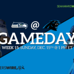 Seattle Seahawks at Carolina Panthers