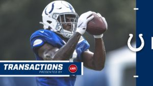 Colts Place WR Chester Rogers On IR; Elevate WR...