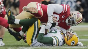 49ers' suffocating defense back to form in time...