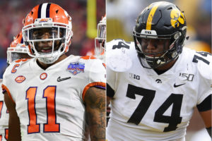 Giants grab Isaiah Simmons, Jets pick Tristan...